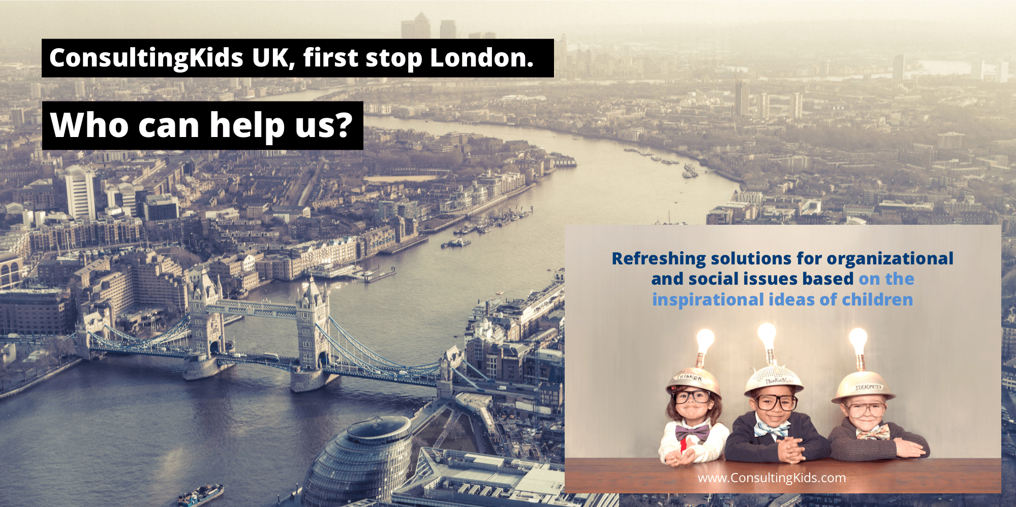 ConsultingKids London LinkedIN dec2018